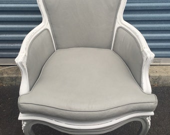 SOLD-Vintage French Provincial Accent Chair