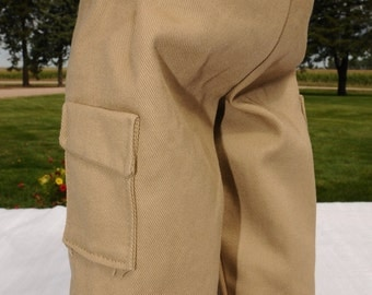 Black/Khaki Cargo Pants