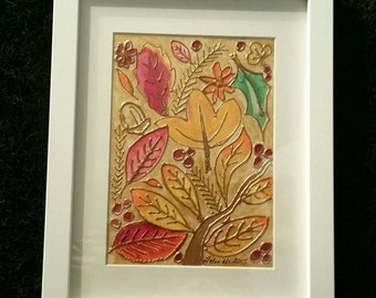 Autumn Leaves - Original Art By Helen McMahon