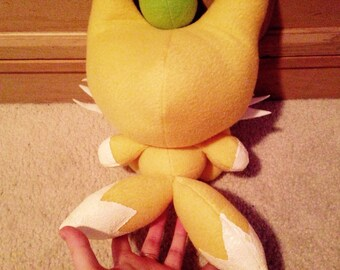 Handmade Sonic the Hedgehog Tails Chao Plush