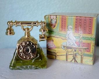 NEVER USED - Vintage Avon La Belle Telephone Sonnet Perfume Concentre