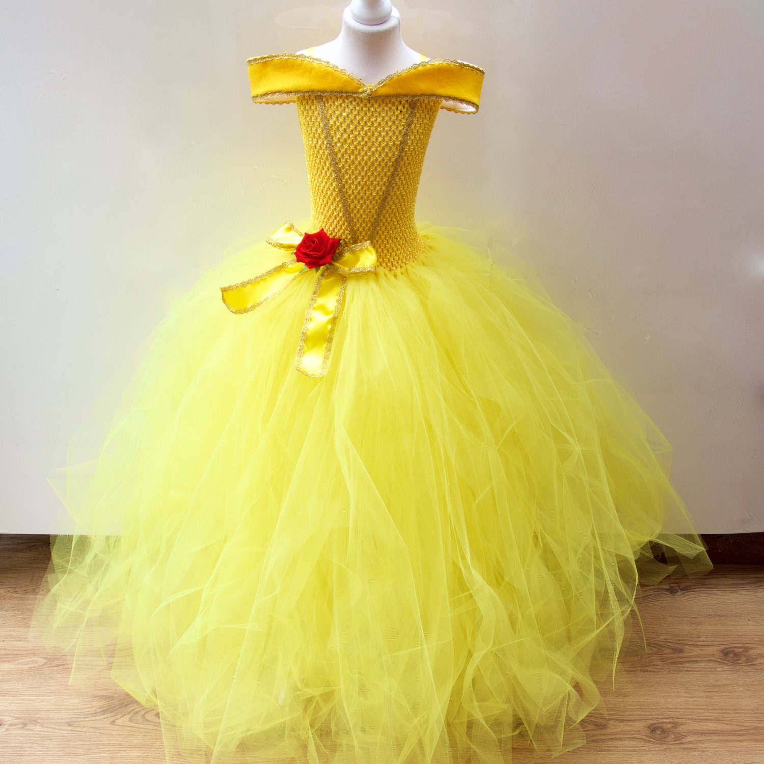 Top Disney Belle Beauty & the Beast inspired Gown Prom Belle UQ34
