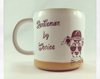 Gentleman by Choice- dog mug