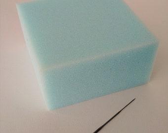 Felting sponge small foam for needle felting needle felting punch pad