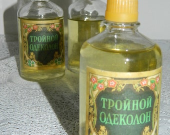 BOTTLES of COLOGNE, years 1996-1997, vintage / COLOGNE water bootles