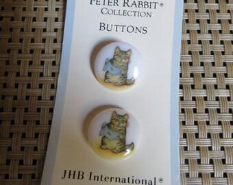 Vintage Beatrix Potter Buttons