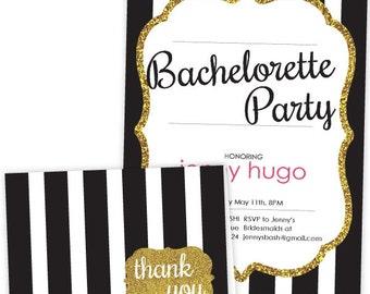 Last Fling Bachelorette Party Printable Invitation Suite Just Artifacts Brand PPB010006