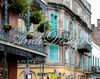 New Orleans beautiful architecture photography print