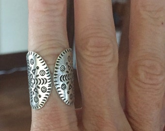 Sterling Silver .999 Wrap Ring