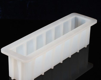 Tall 12'' Silicone Loaf Soap Mold Cake Molds Baking Cupcake Bread Tools Ice Cube Tray DIY Chocolate B0261