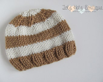 Knitting Pattern Baby Beanie 8 Ply : Lace Bonnet Knitting Pattern Newborn