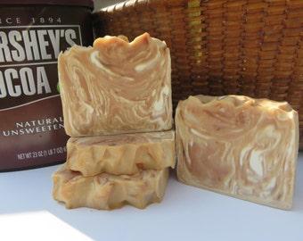 Chocolate Mudslide Soap, All Natural Soap, Bath Soap, Handmade Soap, Bar Soap, Cold process Soap, Homemade Soap, Bath Soap, Gift Soap Unisex