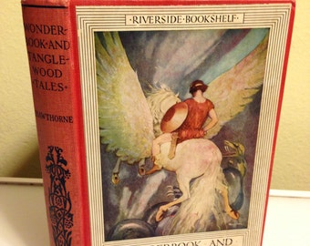 Nathaniel Hawthorne - Wonderbook and Tanglewood Tales 1923 ill. by Gustaf Tenggren Riverside Press