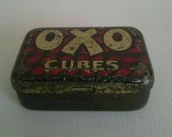 Small Vintage Oxo Tin