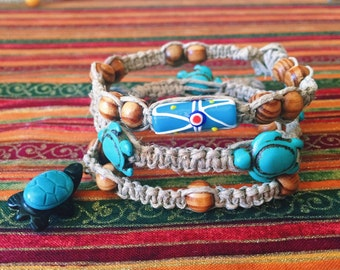 Hemp Bracelets (3 Variations)