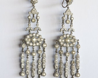 Antique 1920's Chandelier Earrings