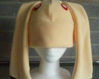 Momiji Hat - Fruit Basket Hat - Momiji Fleece Hat - Rabbit Hat - Bunny Hat - Anime Hat - Convention Hat - Costume Hat - Momiji Rabbit Hat