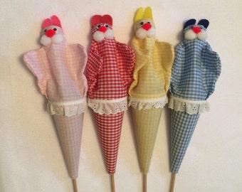 Vintage Handmade Puppets