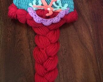 Ariel - The Little Mermaid Crochet Hat