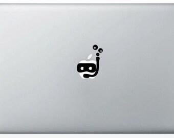 Stickers diver Mac