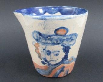 Vintage John B. Taylor Pottery Cup Auld Lang Syne Robbie Burns Robert Scottish Poet