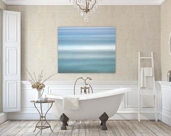 East Matunuck ~ Rhode Island, Canvas Gallery Wrap, Abstract, Ocean, Nautical Beach Decor, Home Decor, Coastal Artwork, Fine Art Photography