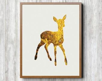 Deer Printable 8 x 10