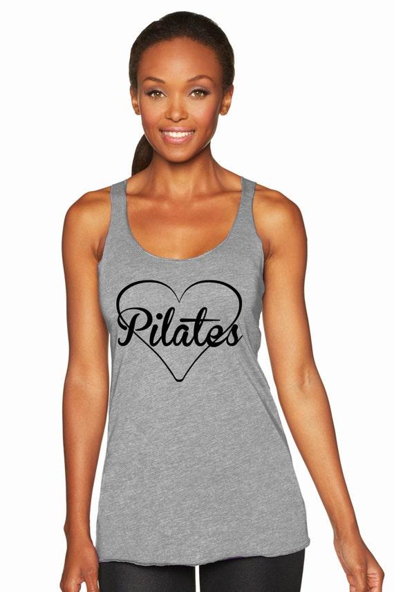 Pilates Love Racerback Tank Top