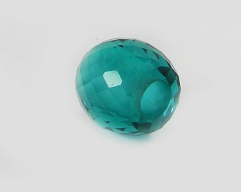 On sale - 2 pcs - Apatite hydro - 11*13mm - Barrel - Facet Beads - 5mm Big hole - Large hole bead - bracelet - Gemstone - SHBD184