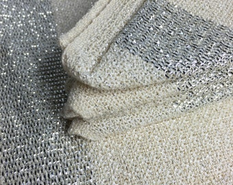FOUR vintage sparkle placemats and FOUR matching napkins - very cute!