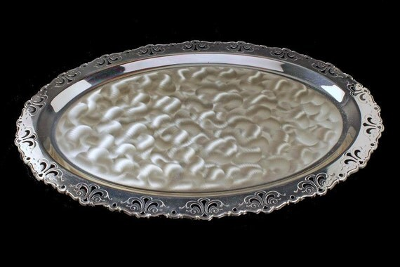 Silver Plate Tray, Caravelle, Hoka, West Germany