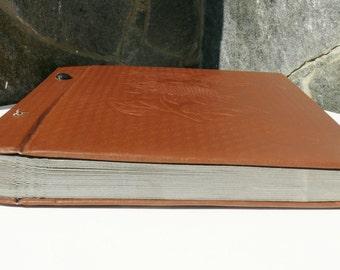 Vintage Russian brown  vinyl Album Pictures, Retro Photo Album, Vintage  Photos Cover, Brown photo album, Picture, gift idea