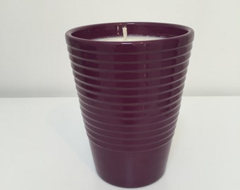 Citronella Soy Hand Poured All Natural Candle