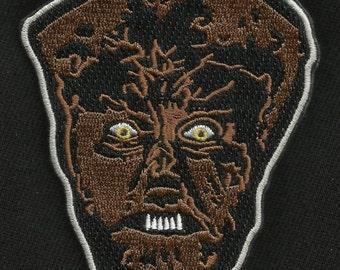 WOLF MAN WAREWOLF Cult Classic Monster Movie Horror Film Rockabilly Patch
