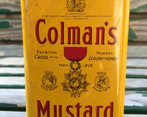 Colman's Mustartd Tin