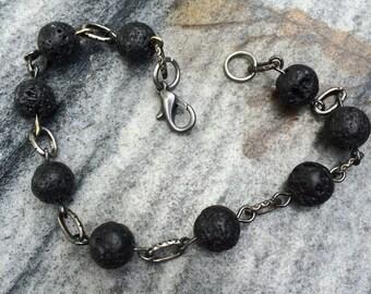 Volcanic Rock bracelet I
