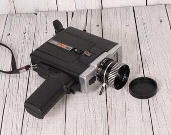 Vintage USSR Camera Lomo 215 Soviet 8mm film Camera Lomography 215 Soviet Electric Movie Camera Super 8 mm Retro Cinema Collectable