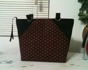 Double Front Pocket - Downton Abbey Handbag