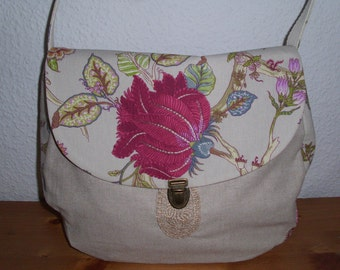 Joisys ® canvas Hobo bag flowers * Jane *.