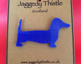 Dachshund / Sausage Dog - Badge / Brooch