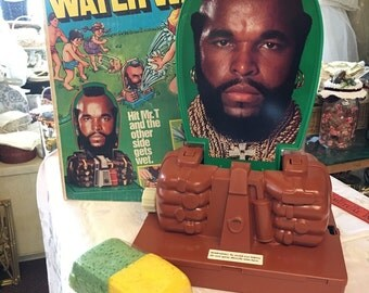 Mr T's Water War sprinkler toy retro 1980 Ateam collectible