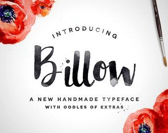 Billow Font + Extras