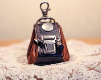 Leather Backpack or Messenger Bag for Dolls
