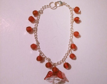 Handmade Angel Chain Bracelet!