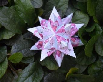 Origami Bascetta Star Kusudama Ball