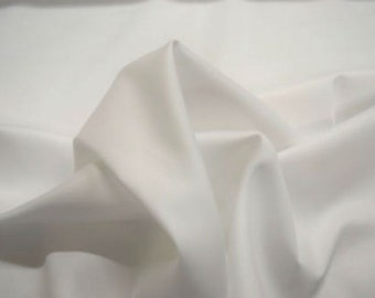 """Robert Kaufman Ultra Sateen White 100% Cotton 44"""" Wide Sold By The Yard"""