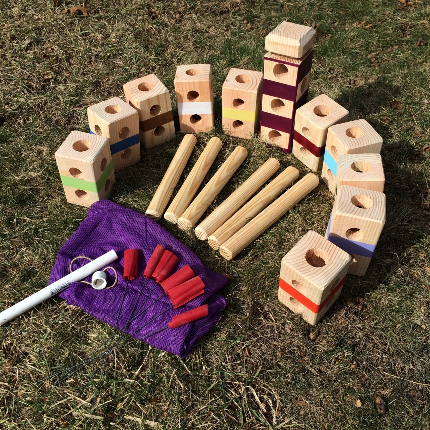 how to build a kubb set