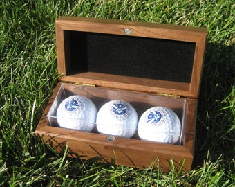 Golf Ball Box - Custom Golf Ball Box - Personalized Golf Ball Box - Groomsman Gift - Best Groomsman Gift