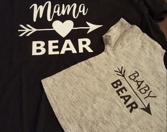 Mama Bear/Baby Bear Duo