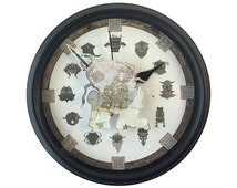 Shadow of the Colossus - 3D Wall Clock - Video Game Decor - Video Game Wall Art - Wall Art